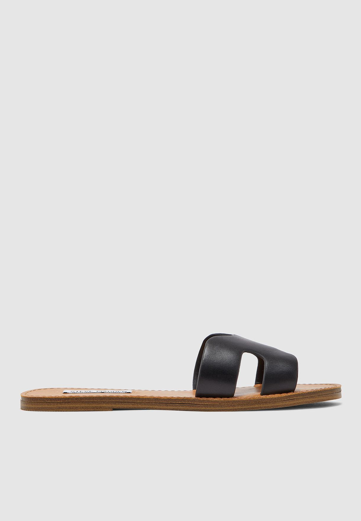 Lisa Flat Sandal - Black