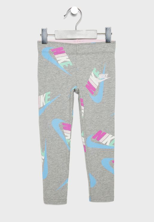 Kids AOP Fleece Leggings