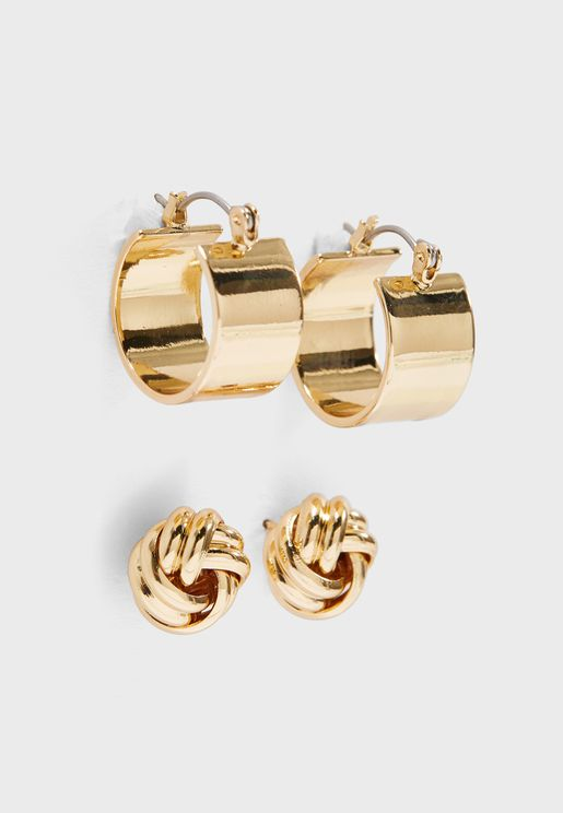 2 Pack Celeste Earrings