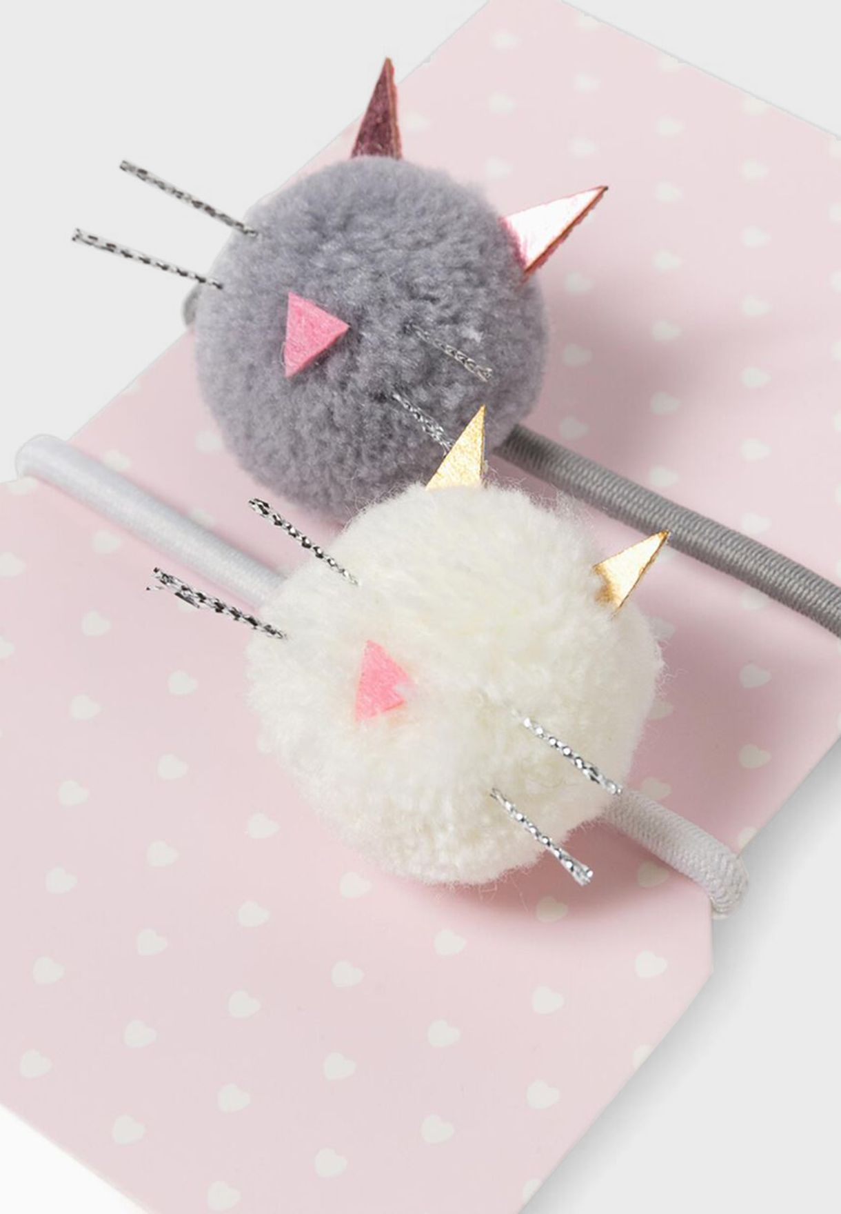 Infant 2 Pack Cute Cats Hairband