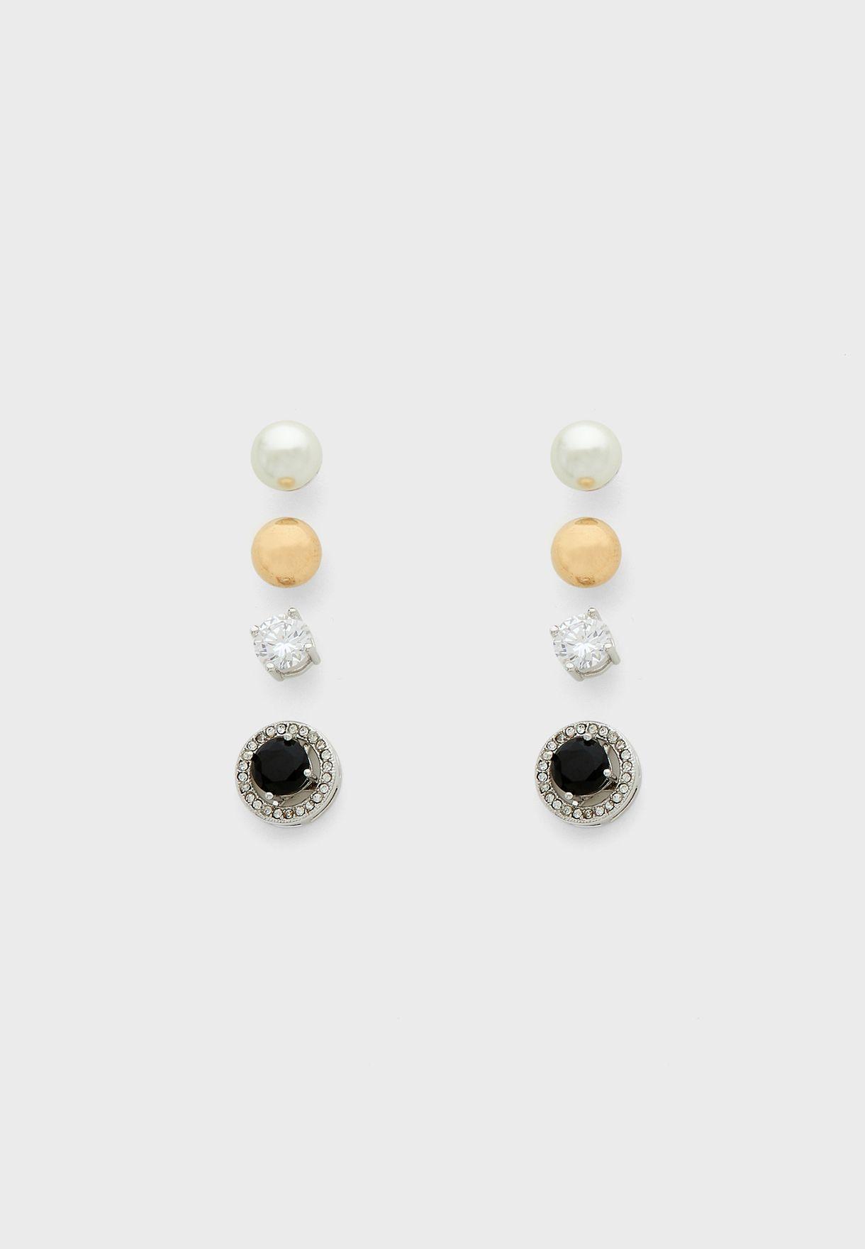Fourever Interchangeable Earrings Set