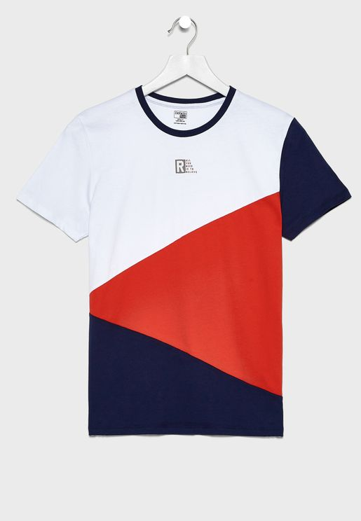Kids Color Block T-Shirt