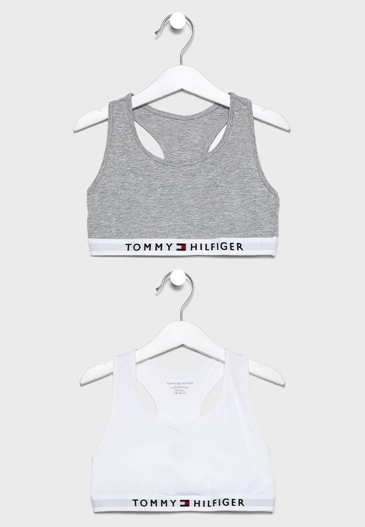 Teen 2 Pack Logo Sports Bra