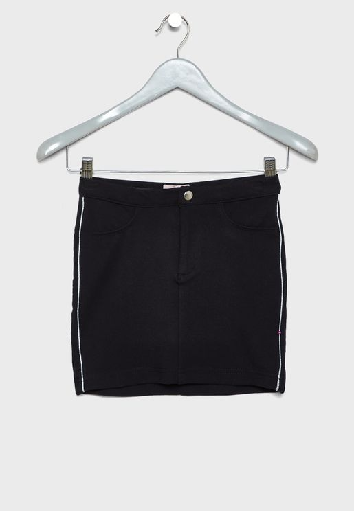 Kids Side Strip Skirt