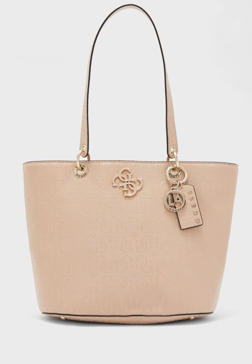 Chic Shine Textured Tote