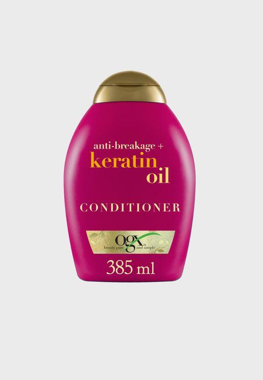 Anti-Breakage+ Keratin Oil Conditioner 385ml