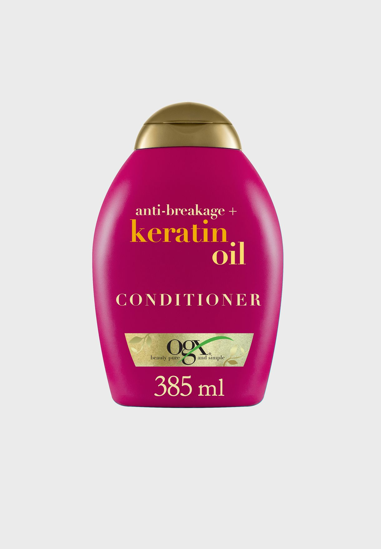 بلسم مقاوم لتكسر الشعر بزيت الكيراتين - 385 مل