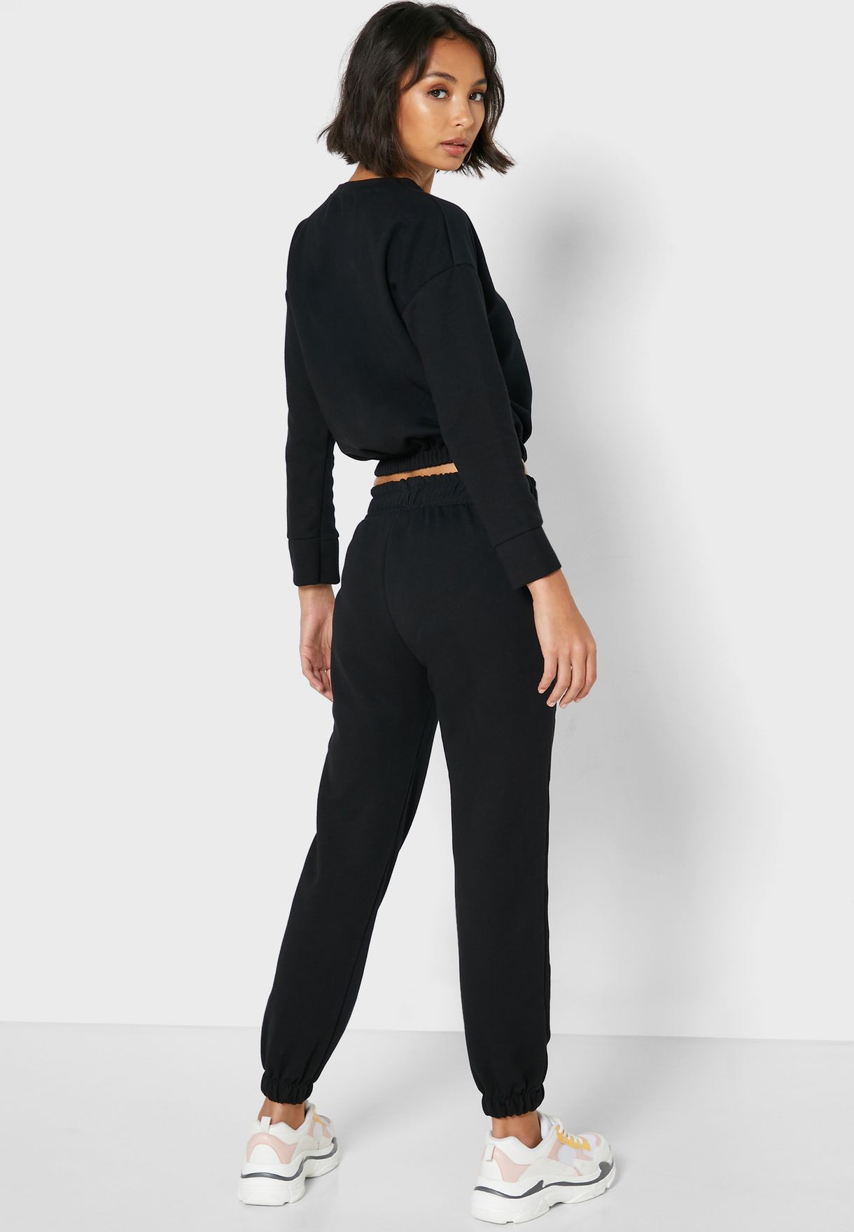 Slogan Jogger Pants Set