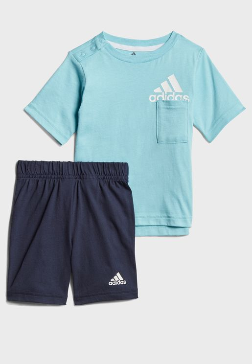 Infant Badge Of Sports Summer Set