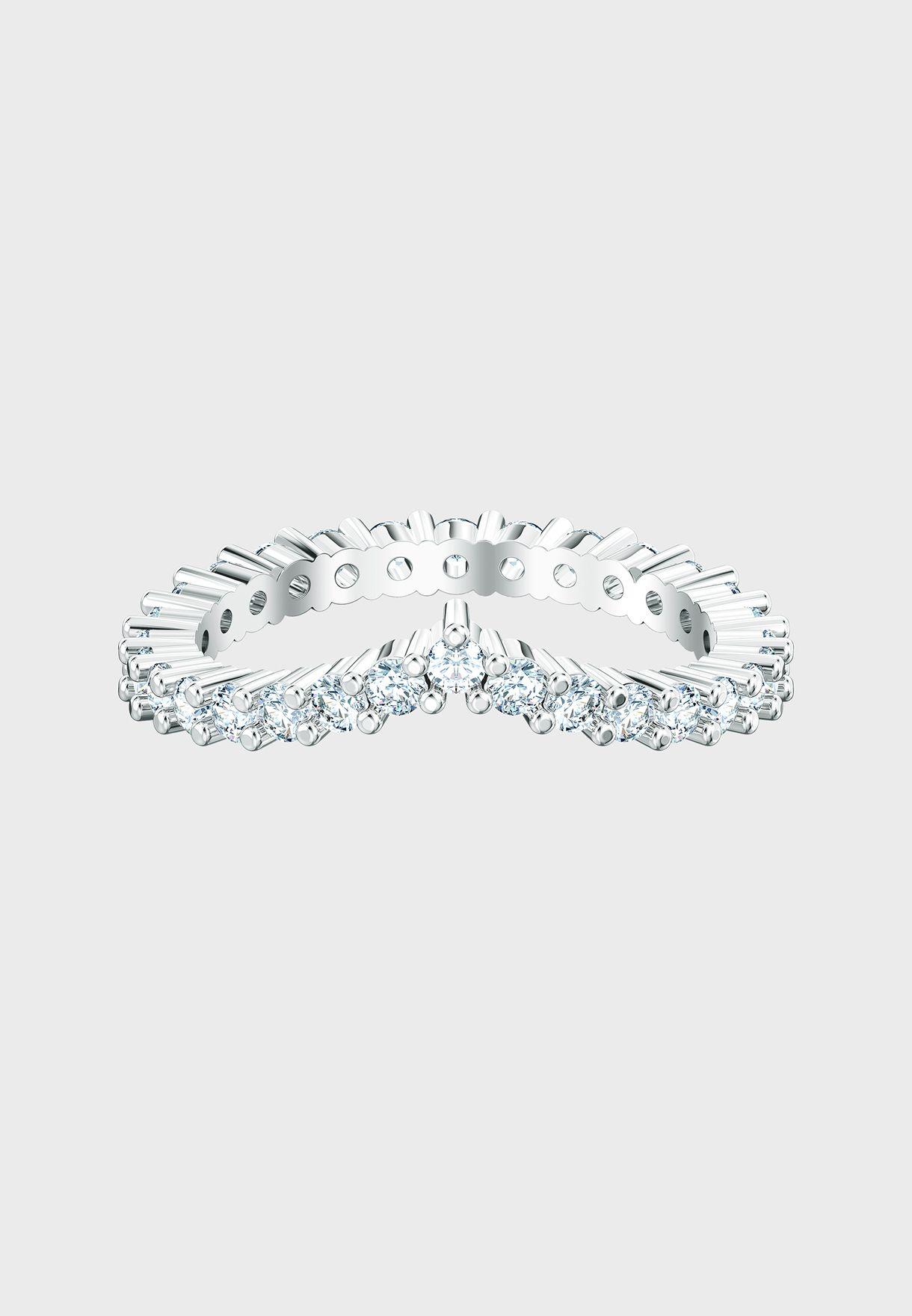 Vittore Rhinestone Ring