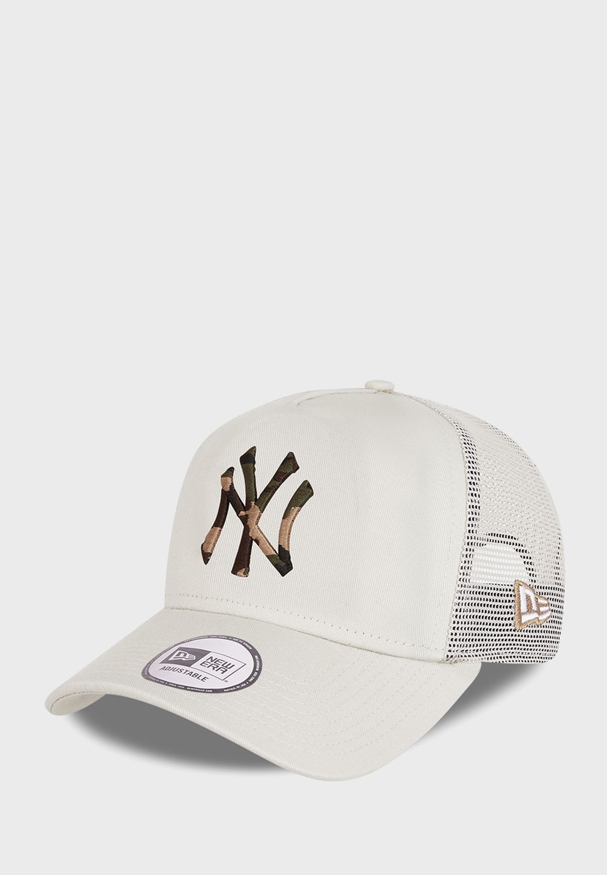 9Forty New York Yankees Camo Trucker Cap