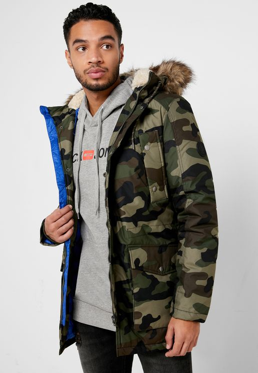 Explore Camo Parka Jacket