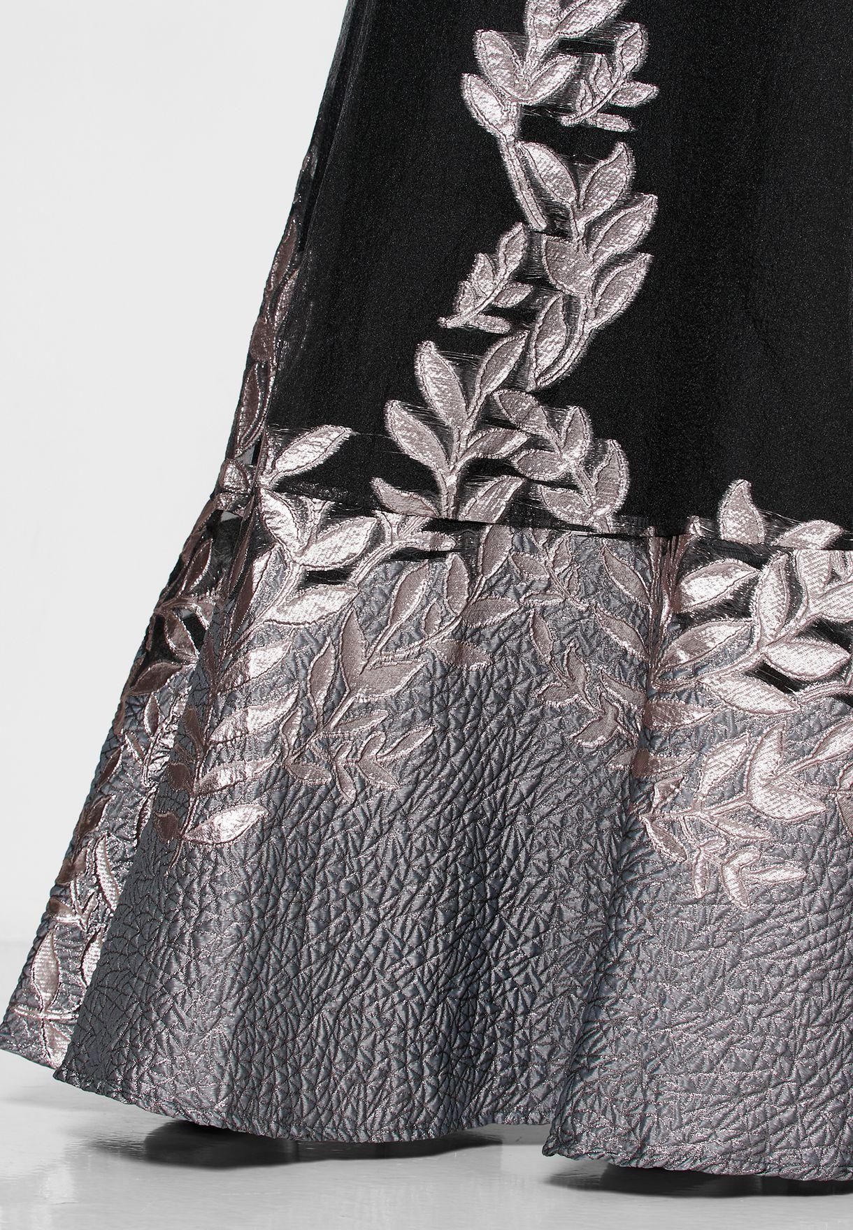 Sweetheart Neckline Peplum Dress