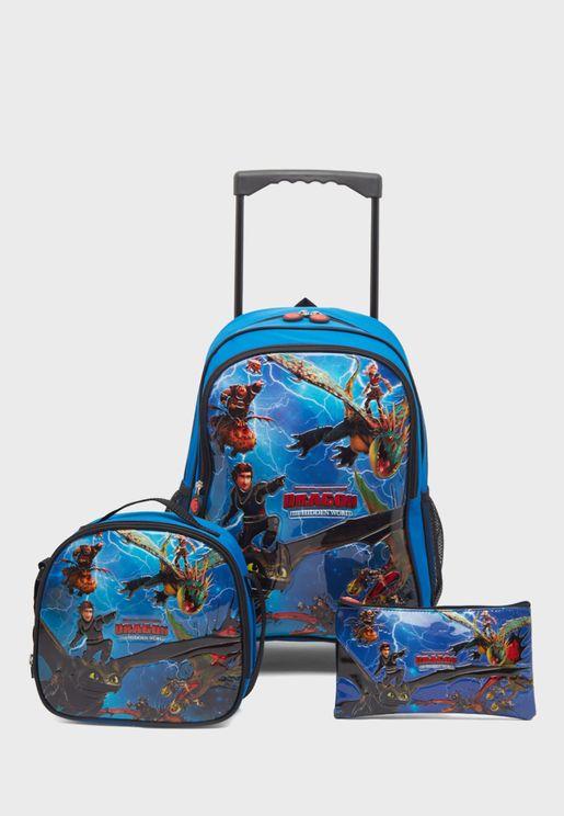 Kids Travel Bag Set