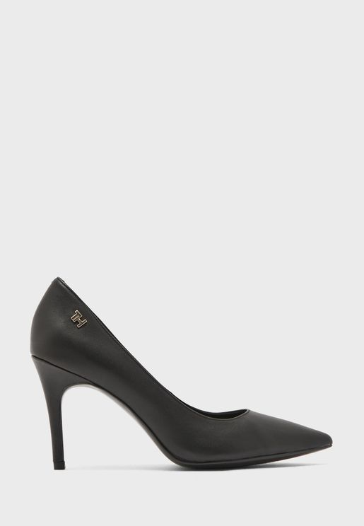 Essential Leather High Heel Pump