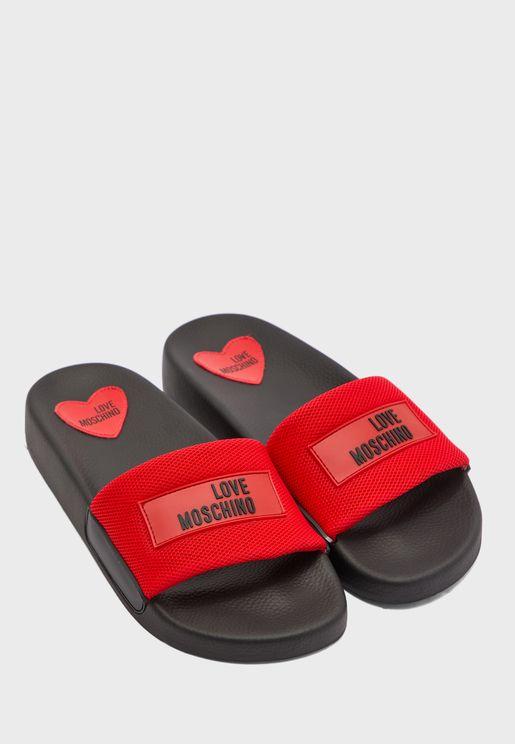 Mesh Detail Slider - Rosso