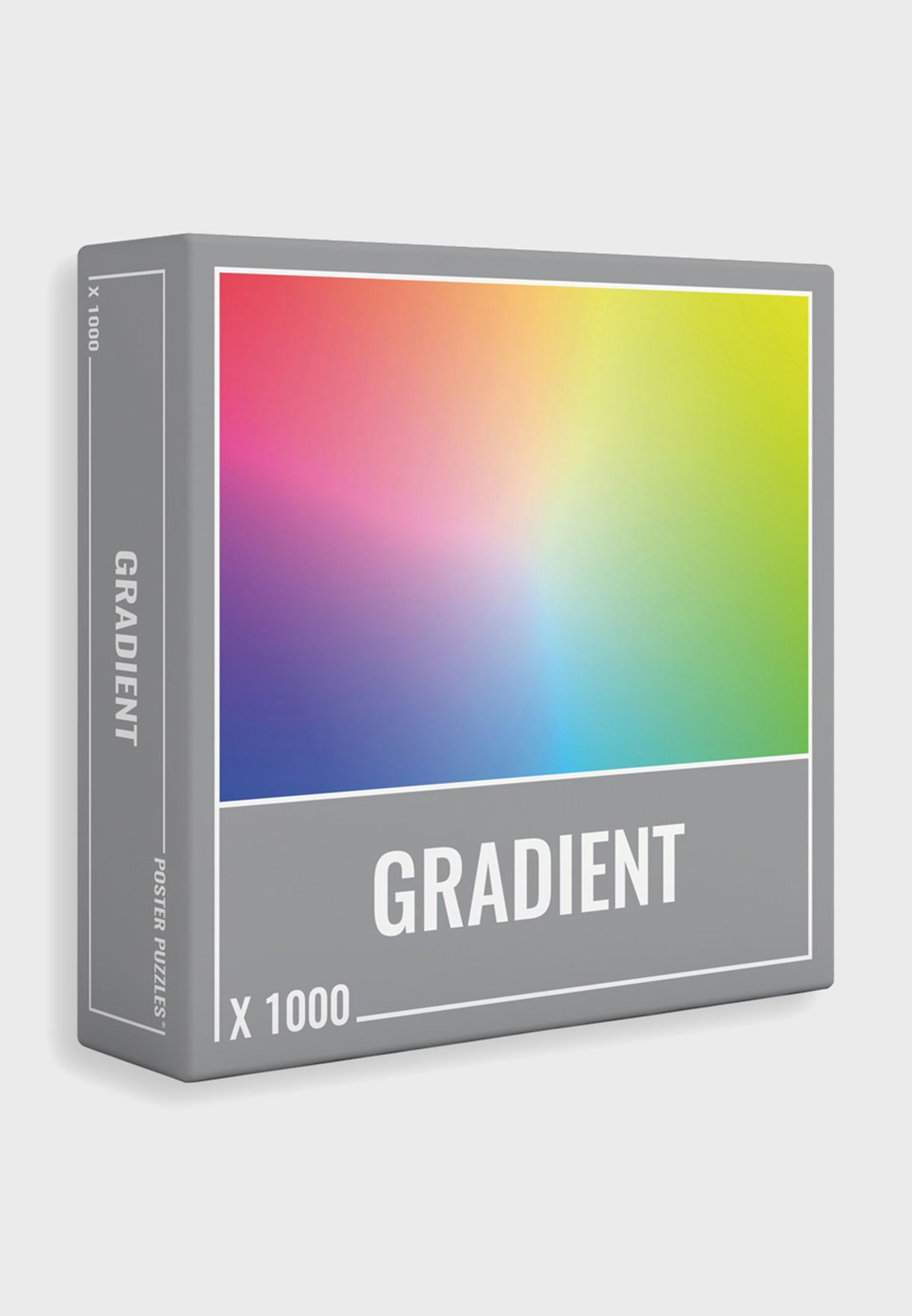 1000 Piece Of Gradient Puzzle