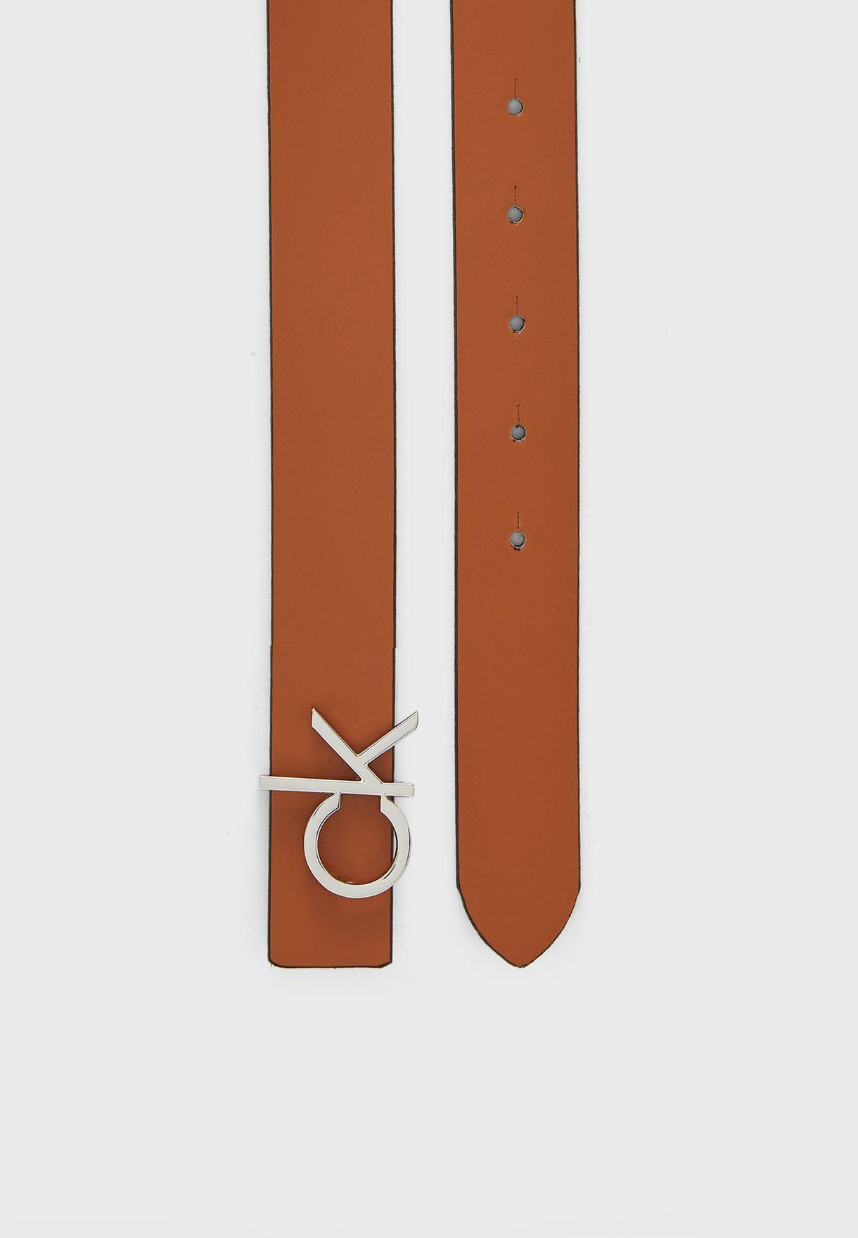حزام جلد اصلي بوجهين
