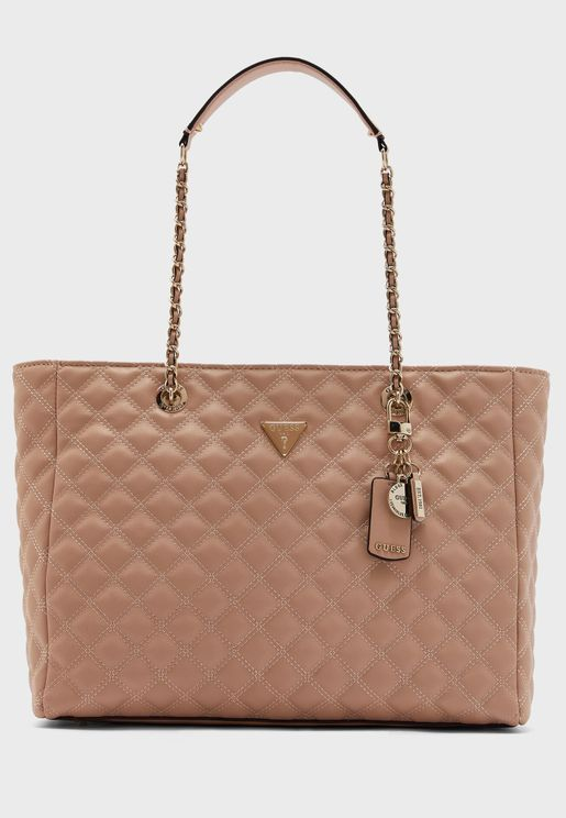 Cessily Tag Detail Tote