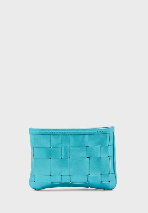 Top Zip Intertwined Purse