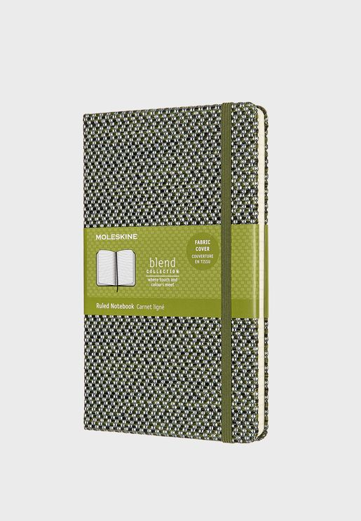 Large Blend Ruled Limited Collection Notebook