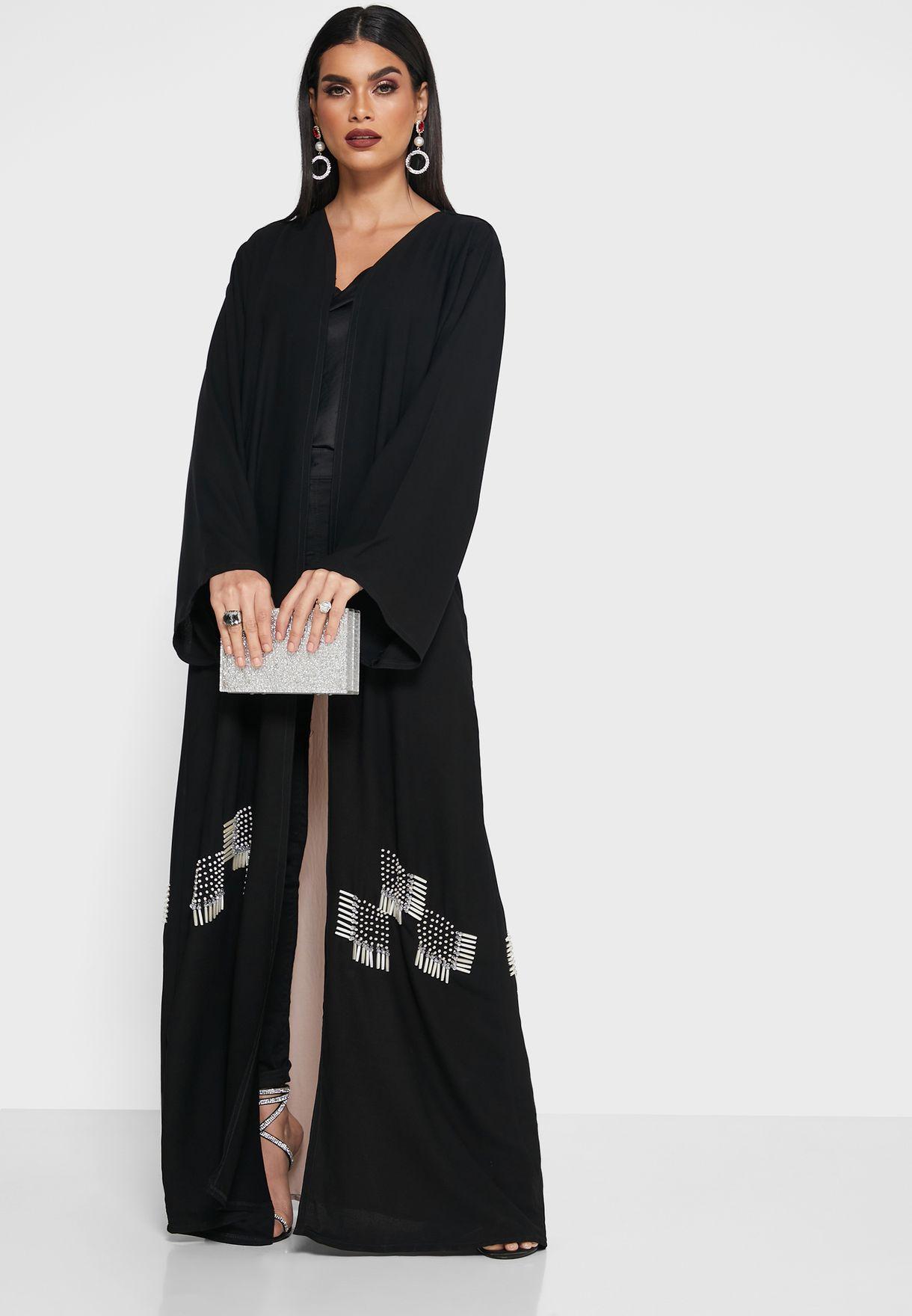 Tie Back Detail Abaya