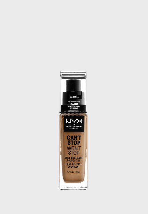 Cant Stop Wont Stop 24Hr Foundation- Caramel
