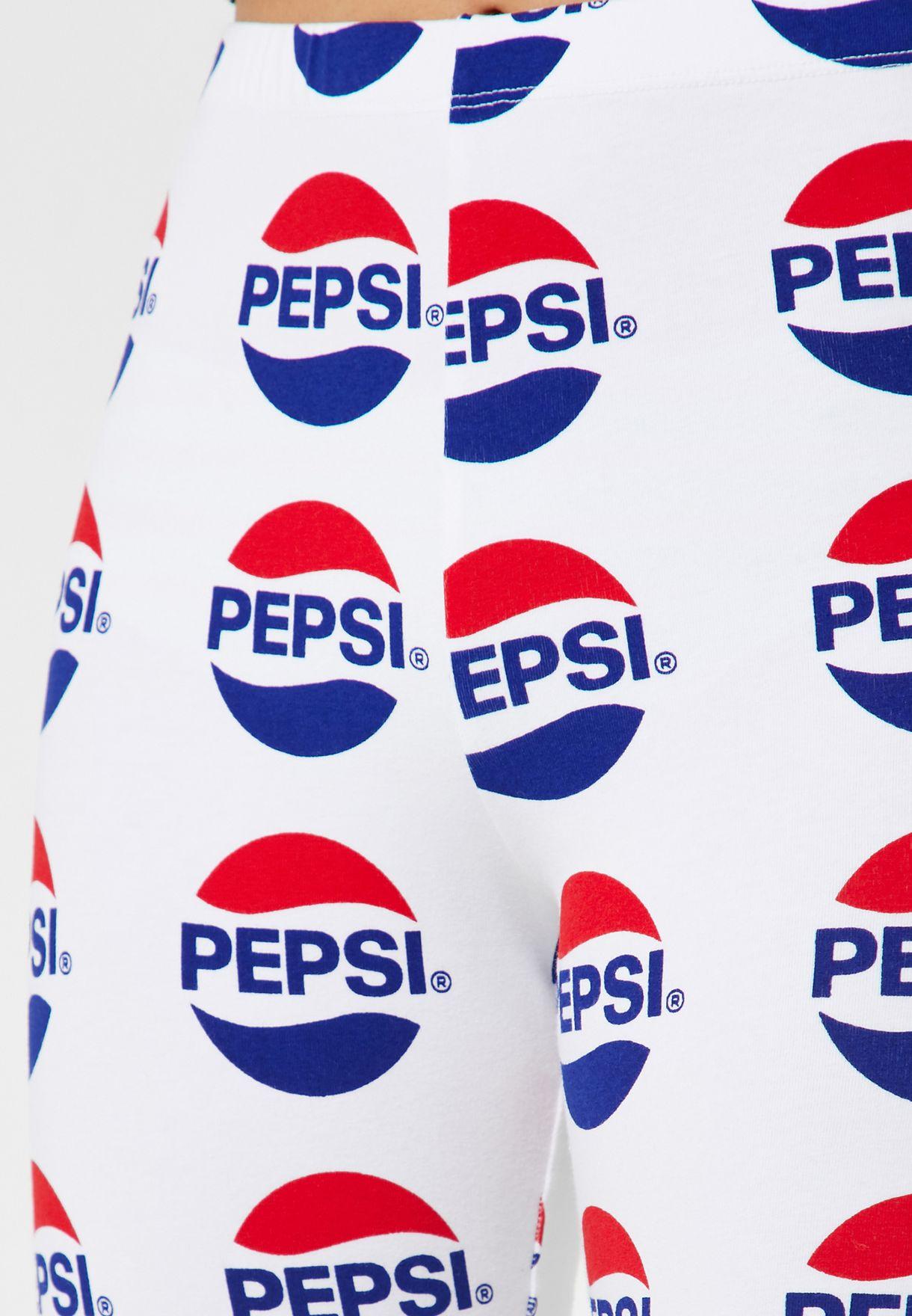 Pepsi Biker Shorts