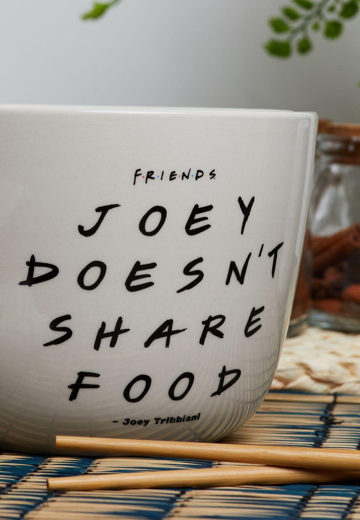 Friends Joey Noodle Bowl