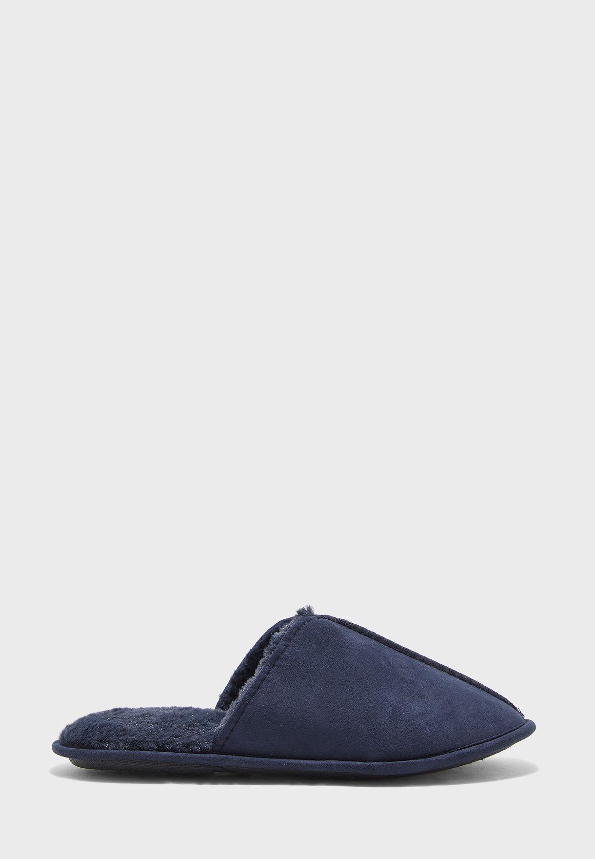 Micro Suede Bedroom Slippers