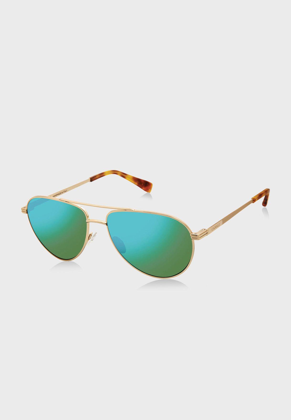 L CO20402 Aviator Sunglasses