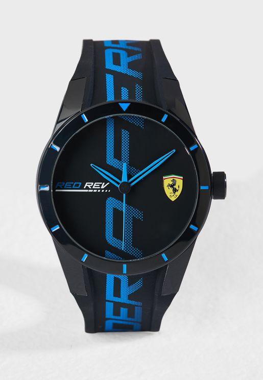 830616 Redrev Analog Watch