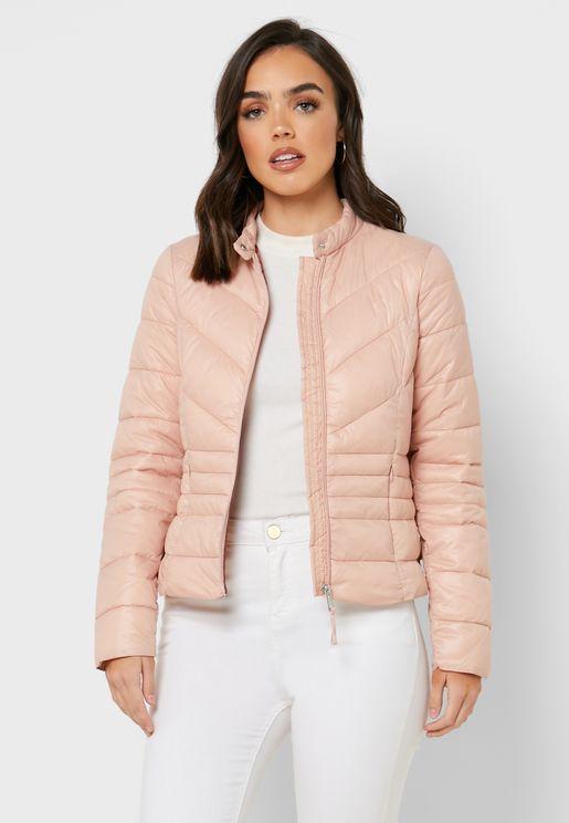 PU Puffer Jacket