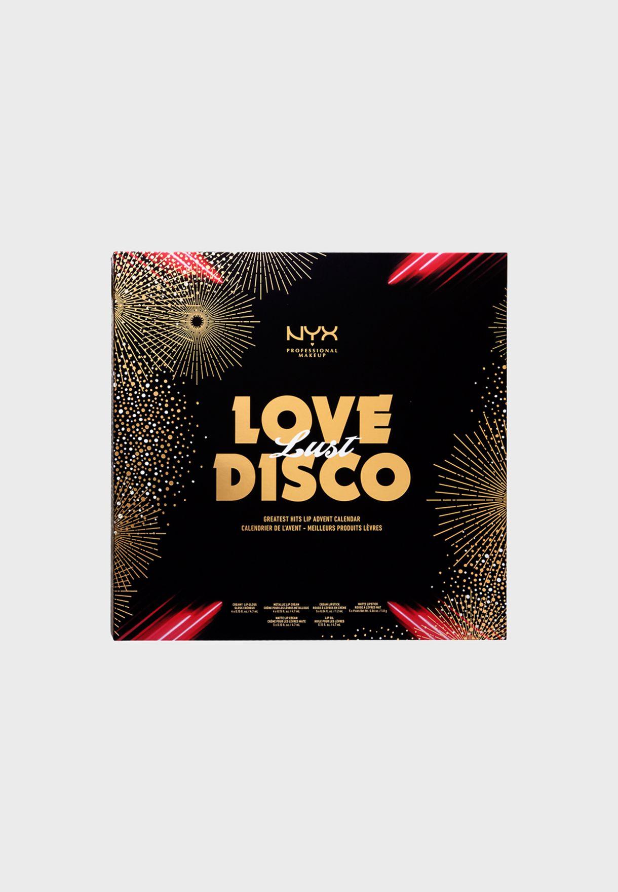 Love Lust Disco Greatest Hits Lip Advent Calendar