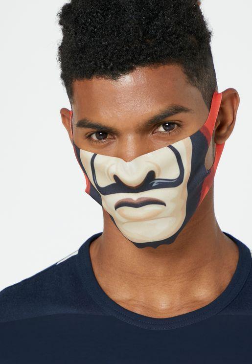 ماسك وجه بطبعة جرافيك