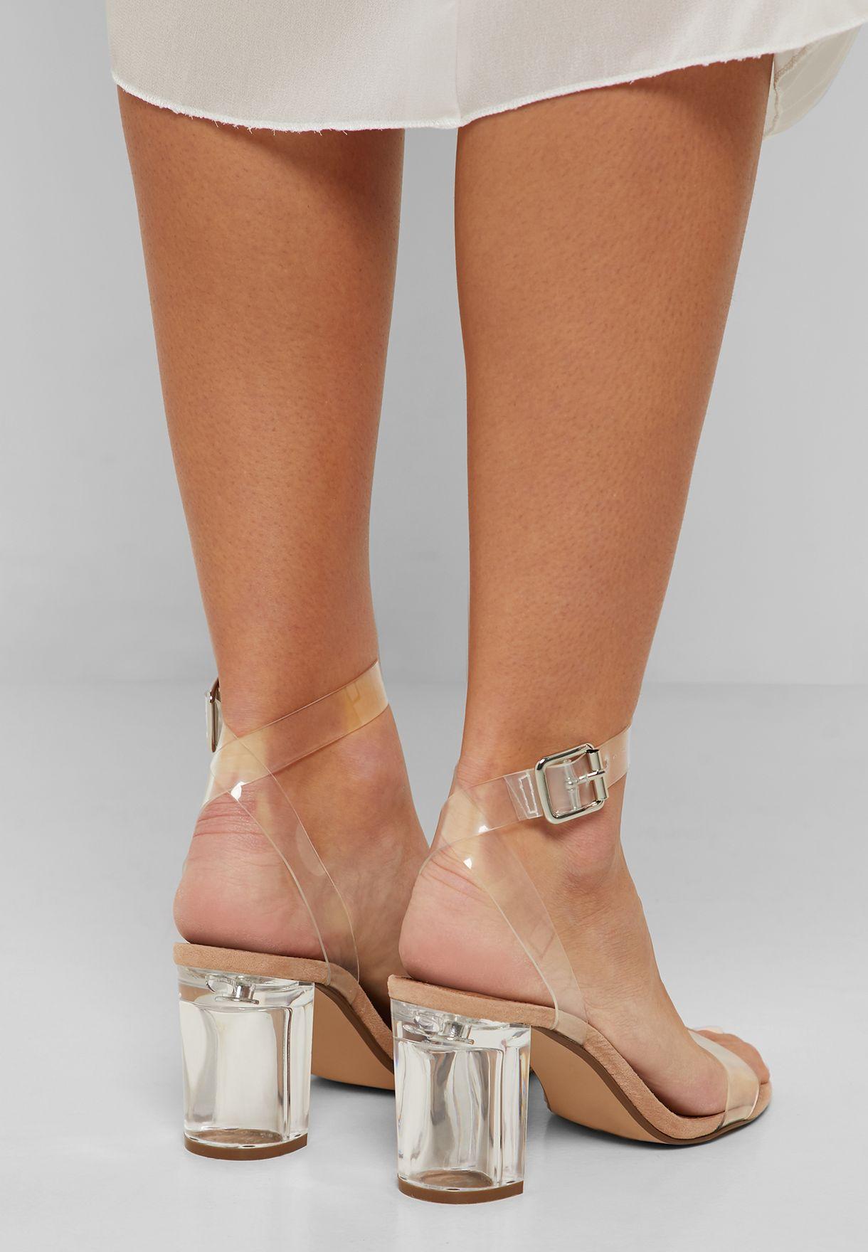 Instruir encanto Publicación  Buy Steve Madden white Mischief Heel Sandal for Women in MENA, Worldwide    MISCHIEF