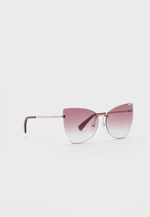 Lo119S Square Sunglasses