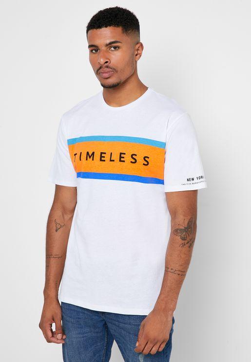 Gyma Crew Neck T-Shirt