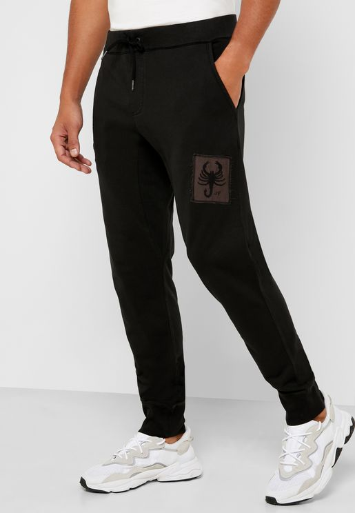 Graphic Knitted Sweatpants