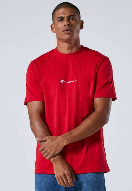 Essential Signature Crew Neck T-Shirt