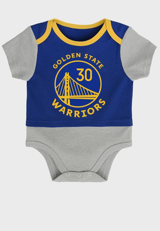 Infant Stephen Curry Golden State Warriors Referee Bodysuit