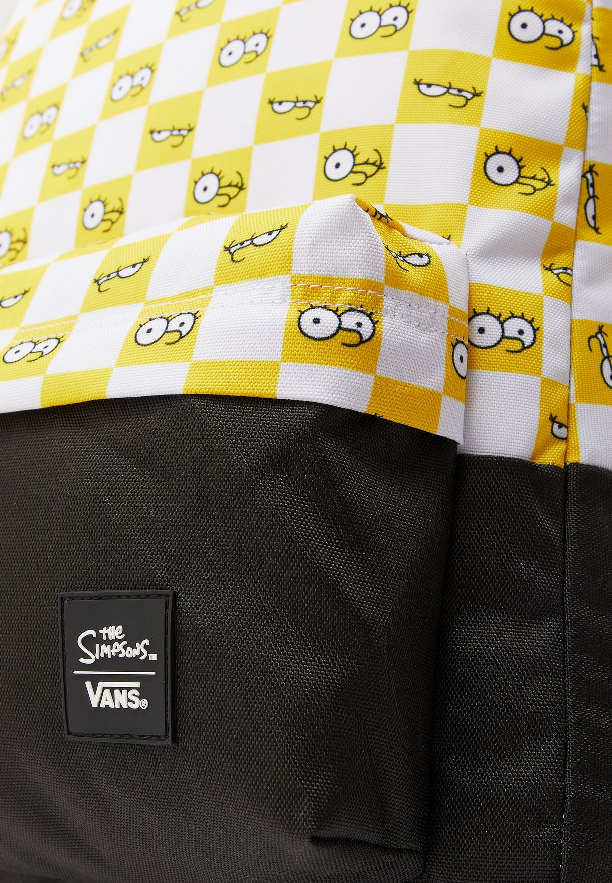 Simpsons Check Eyes Backpack