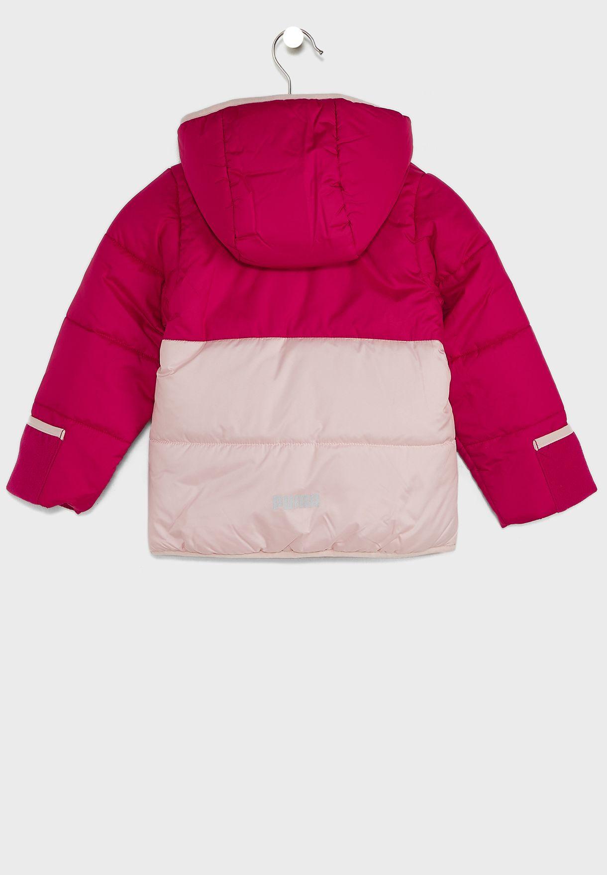 Infant Minicats Padded Jacket