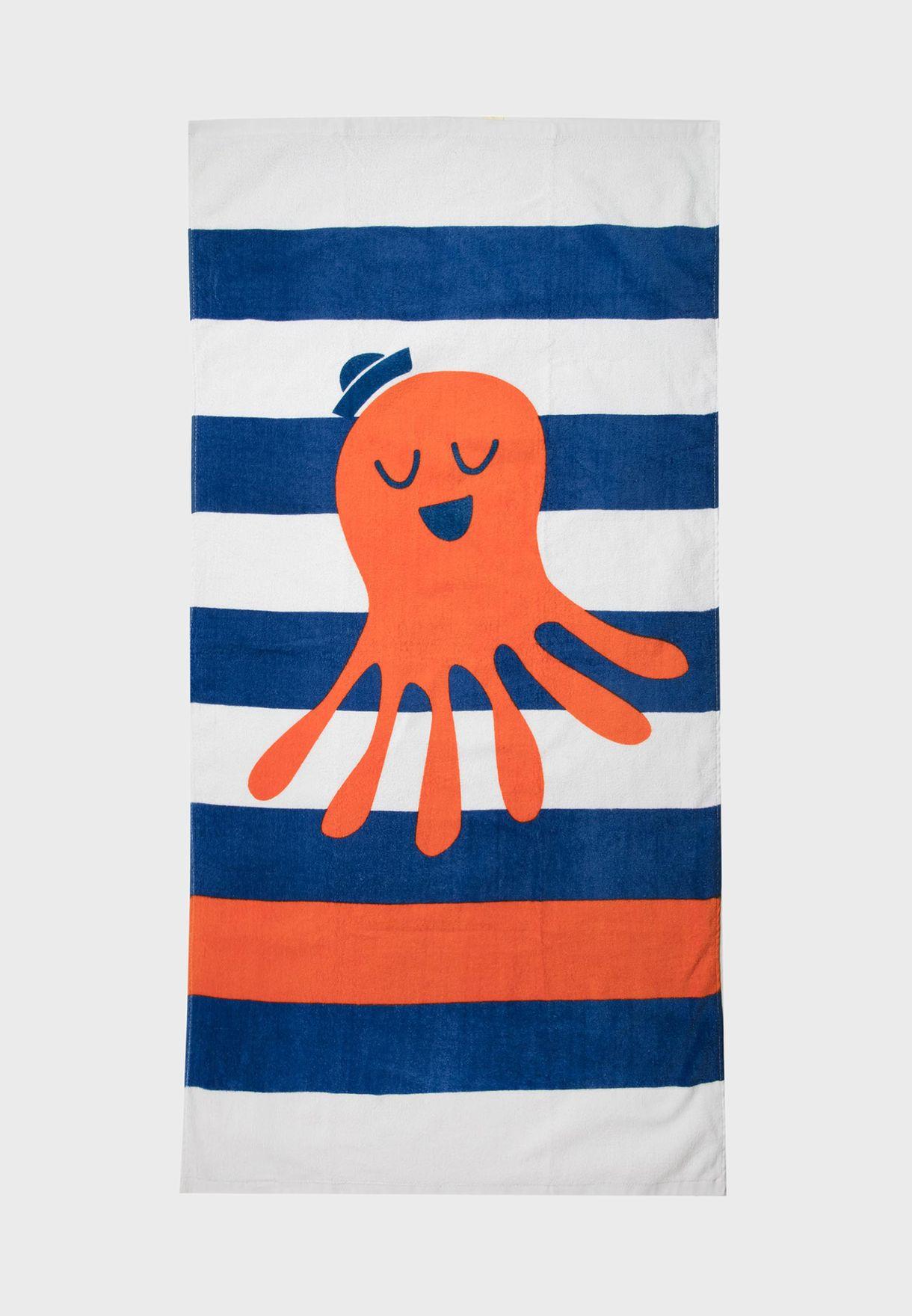 Kids Striped Towel