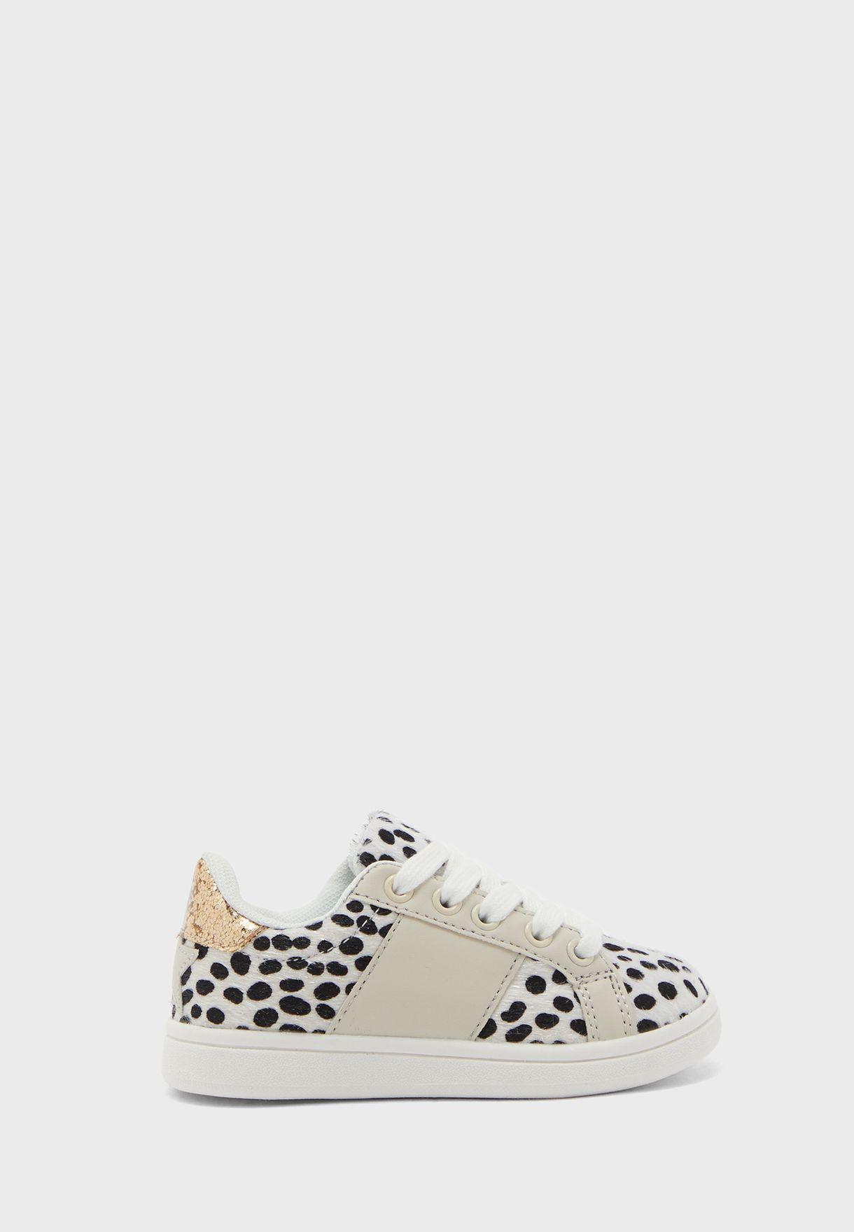 Kids Snow Leopard Sneaker