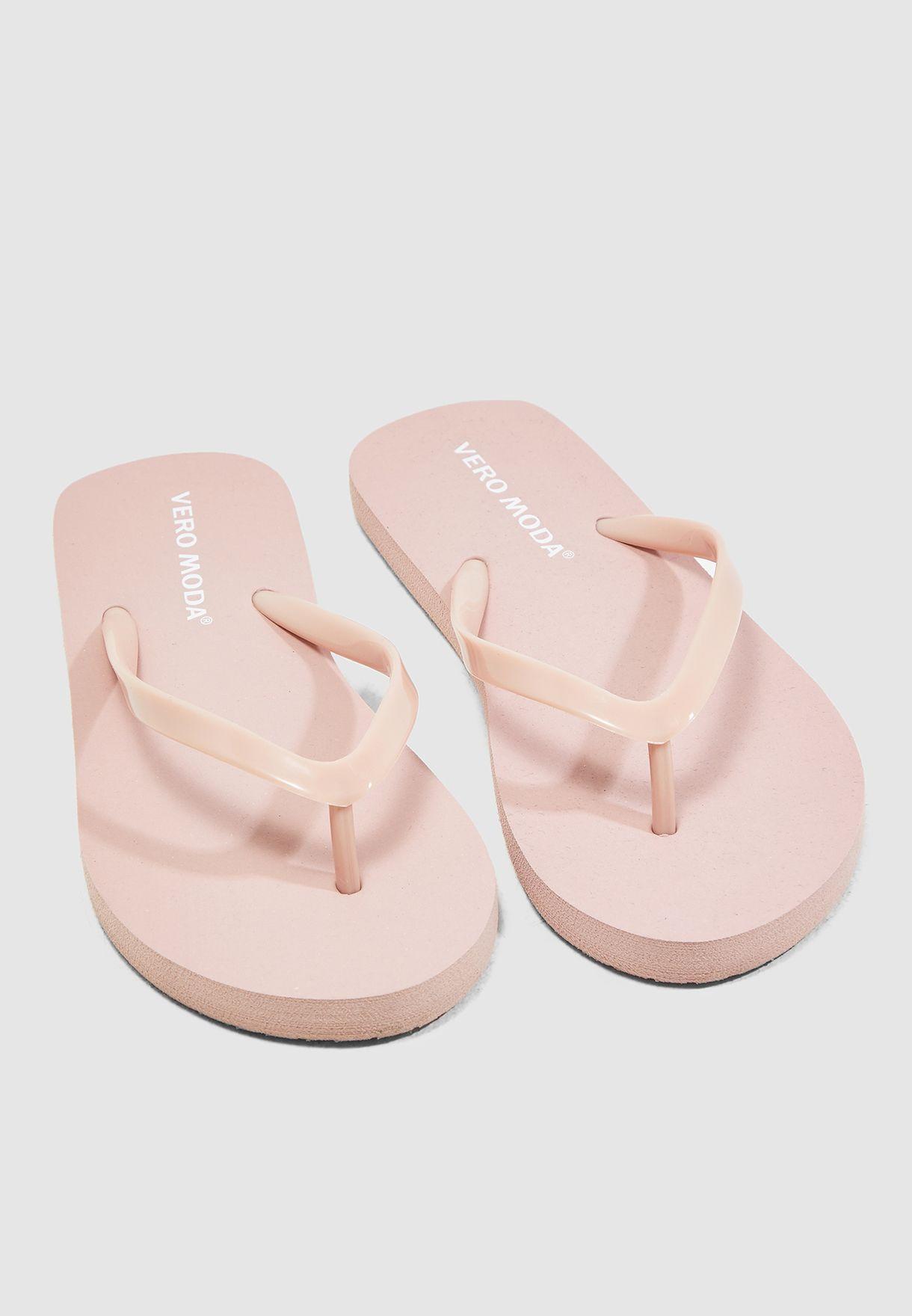e2c4e26355af5 Shop Vero Moda pink Ida Flip Flop 10214144 for Women in Saudi ...