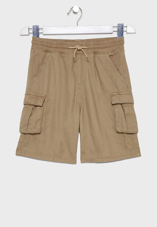 Kids Charlie Cargo Shorts