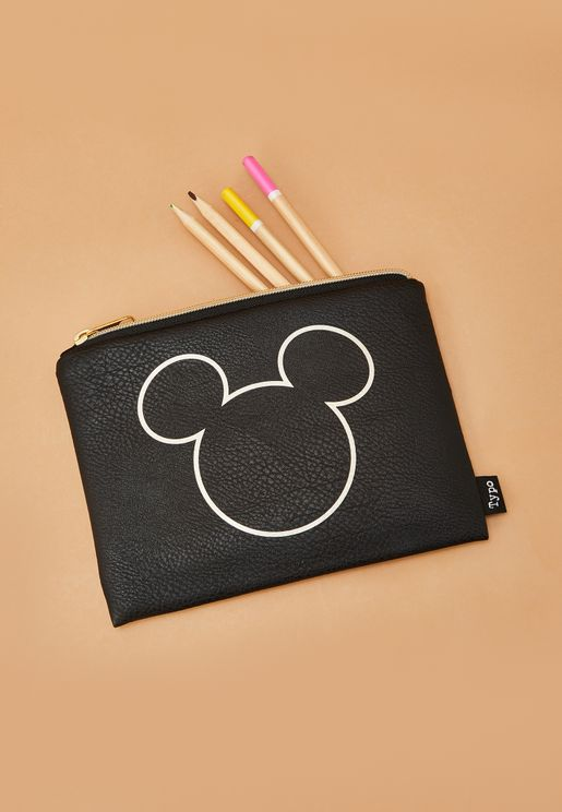 Mickey Head Pencil Case
