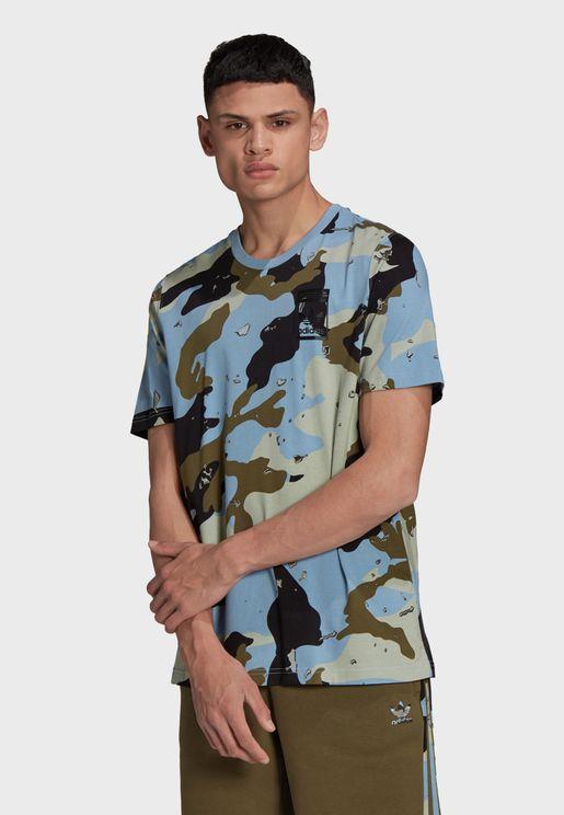 Camo Aop T-Shirt