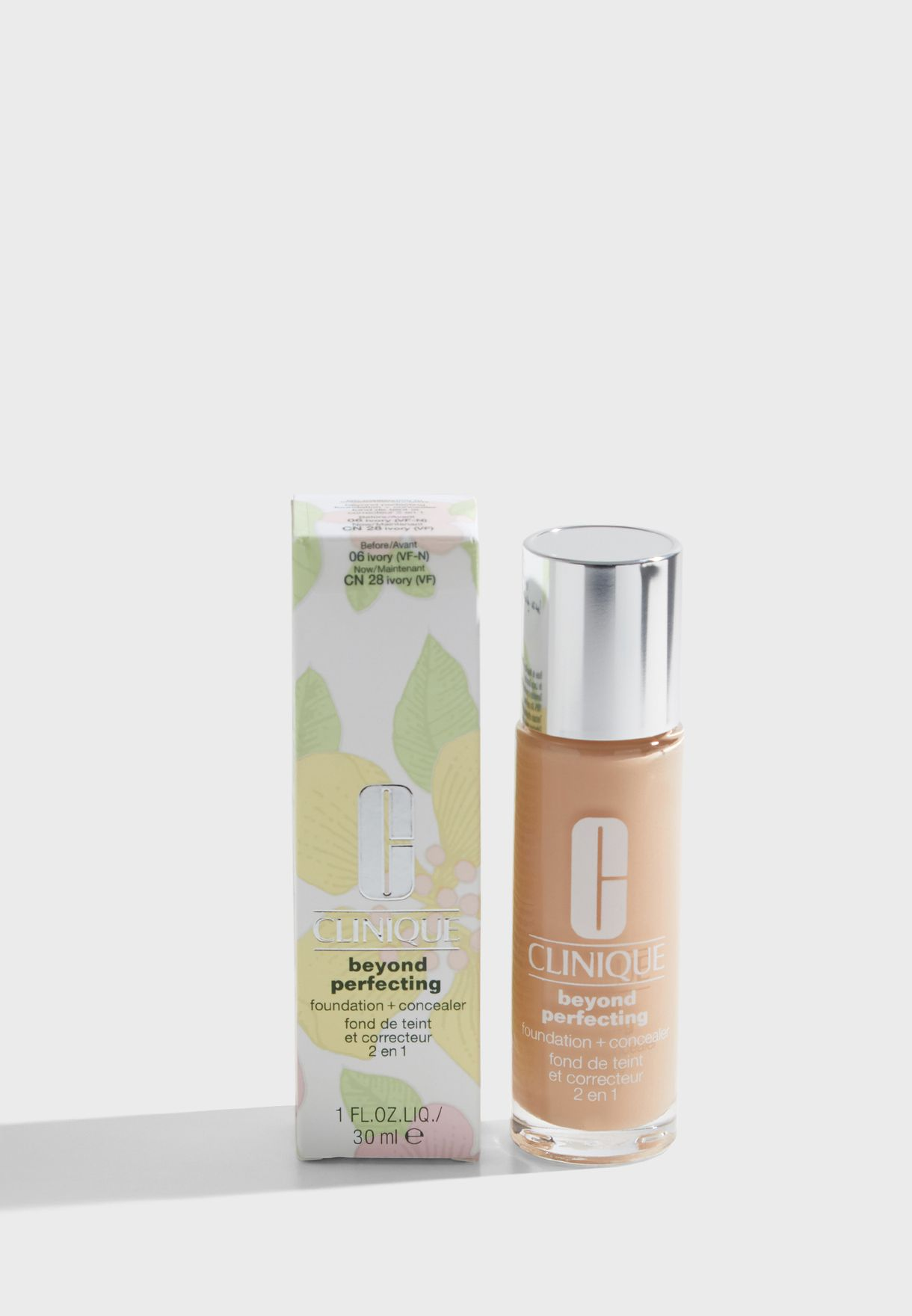 Beyond Perfecting Foundation + Concealer - Ivory